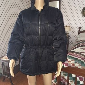 Worthington down filled puffer coat, Petite Medium